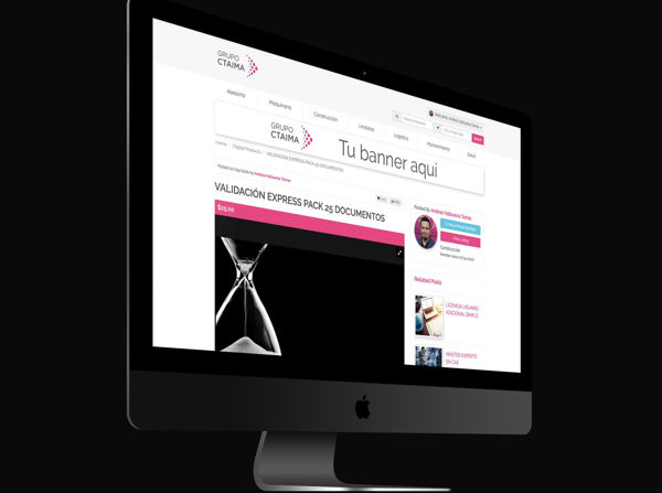 Imagen de Banner Sidebar Banner Ad CTAIMA DIRECTORY